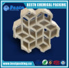 Imballaggio di ceramica chiaro per la torretta di lavaggio, imballaggio strutturato di ceramica