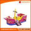 Розовый раздувной скача Princess Jumping Шлюпка Хвастун корабля (T6-608)