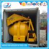 Bom misturador concreto portátil pequeno da eficiência Jzr500 com motor Diesel