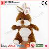 Marioneta de mano suave animal rellena del conejo de la felpa del juguete