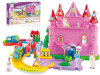 Kids Electric Toy Dream Castelo B / O trem ferroviário (H5697087)