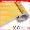 Da cor simples da planície do estilo da fonte da fábrica de China papel de parede à prova de fogo do PVC 3D para o quarto