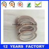 Cinta de cobre adhesiva de la hoja del solo silicón lateral de la alta calidad 0.07m m