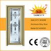 内部ミラーのガラスによって艶をかけられるアルミ合金のドア(SC-AAD003)