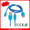 Кабель для Samsung - синь USB V8 микро- Nylon