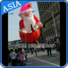 Selling caldo Cartoon Inflatable Human Balloon/Inflatable il Babbo Natale Balloon per Christmas
