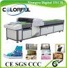 Impresora de acrílico del algodón de la lona de madera plástica de cuero de cerámica de cristal del metal del CE (Colorful-6025)