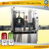 자동적인 통조림으로 만들어진 탄산 음료 충전물 기계