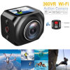 Caméra de 360 degrés en Full HD 3D VR Sports WiFi Mini DV 16MP Appareil photo d'action VR 4K360