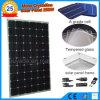 Panneau solaire monocristallin élevé du rendement 250W