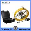 Tuyau de Pan Tilt Caméra d'inspection de l'égout avec 512 Hz Sonde émetteur