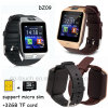 Самый дешевый Bluetooth Smart посмотреть номер телефона с разъем для SIM-карты Dz09