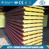 Rockwool Сэндвич панели для стен и крыши по конкурентоспособной цене в сегменте панельного домостроения птицефермы в Китае