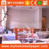 PVC romântico Wall Panels de Commercial Decorative 3D para Restaurant