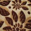 Polyester Dye Pattern e 100% della parte Chenille Fabric