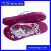 PE 2016 Ladies Slipper avec Embossed Logo sur Sole