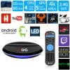 I96 Android Market 7.1.2 Smart Caixa de TV S905W com núcleo quádruplo, 1GB/8GB de RAM ROM com HD de 1080P 4K, WiFi Media Player