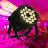 4in1 Licht van het Huwelijk van het Aluminium 18X10W RGBW het Waterdichte Openlucht