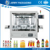 Automatisches Haustier u. Glas abgefüllte Flaschen-abfüllende Saft-flüssige Füllmaschine