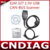 USB 1.5V металла Elm327 Elm 327 Может-Bus Scanner Elm327 Software