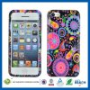 iPhone 5 AccessoriesのためのきれいなColorful Flowers Silicone Case