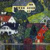 Klimt02 Huile sur toile paysage