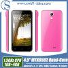 4.5 RAM Androïde 4.4 Smartphone 2 SIM van de Kern van de Vierling van de Duim Mtk6582 1GB (T2)