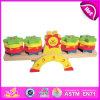 2014 speelt het Nieuwe OnderwijsSpeelgoed van het Spel van Jonge geitjes, het Houten Speelgoed van het Spel van het Saldo van Kinderen, het Hete Speelgoed W11f022 van het Spel van het Saldo van de Verkoop Houten