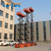Китай заводской поставки самоходных подъемный стол ножничного типа