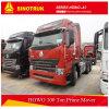 Sinotruk HOWO A7 6X4の販売のための長い小屋のトラクターのトラック
