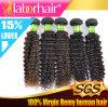 Extensão Kinky Lbh 169 do cabelo humano de Remy do Virgin do brasileiro da onda 100%