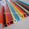 La fibra de vidrio pultrusión FRP estándar de perfiles para las escaleras de mano de la bandeja de Cable compuesto y stents