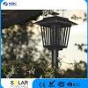 lampada solare viola di 1PC White+2PCS LED LED