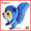 Jouet bleu de peluche d'écureuil de jouet de peluche de Maching de griffe de jouet de peluche