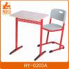 새로운 디자인 학교 가구 고쳐진 단 하나 책상 & 의자