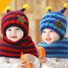 도매 귀여운 니트 온난한 베레모 아기 모자 및 스카프