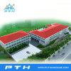 De geprefabriceerde Lichte Bouw van de Structuur van het Staal voor School/Hotel/Winkelcomplex