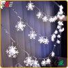 Lichten van LEIDENE Lichten die het Koord van Lichten van Levering voor doorverkoop van de Lichten van Kerstmis van de Reeks van de Lantaarns van de Sneeuw van Sterren de Kleine opvlammen