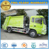 Camion d'ordures de compacteur de Dongfeng camion de compresse d'ordures de 8 T pour l'exportation