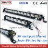 LED 표시등 막대 (GT3520-18)를 모는 호리호리한 7.4inch 맨 위 램프 Offroad 4X4