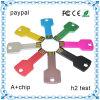 Plástico de alta qualidade promocional PVC Flash Drives USB Key