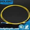 Fiber Optic Patchcord LC to LC Simplex Singlemode 2.0mm Yellow Short Boot