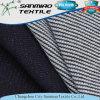 indaco del cotone 260GSM 100 che lavora a maglia il tessuto lavorato a maglia della cialda del denim per gli indumenti