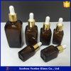 botella de petróleo esencial afilada ambarina de 15ml 30ml 50ml 100ml