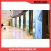 Schermo di visualizzazione fissato al muro dell'interno di Showcomplex pH1.9 LED per fare pubblicità