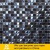Mosaico de cristal 03 de la piedra del color oscuro