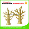 Artificial Hand Sharp Porcelaine Golden Tree Decor for Hanging