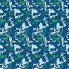 Boa qualidade de impressão digital de moda de tecido de seda (XF-0014)