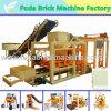 Machine de fabrication de brique Qt4-25 concrète complètement automatique pour le Nigéria, Ghana