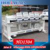 Chapeau de la vente quatre de machine principale chaude de broderie/T-shirt multifonctionnel/prix heureux semblable de machine de broderie automatisé par plat en Chine